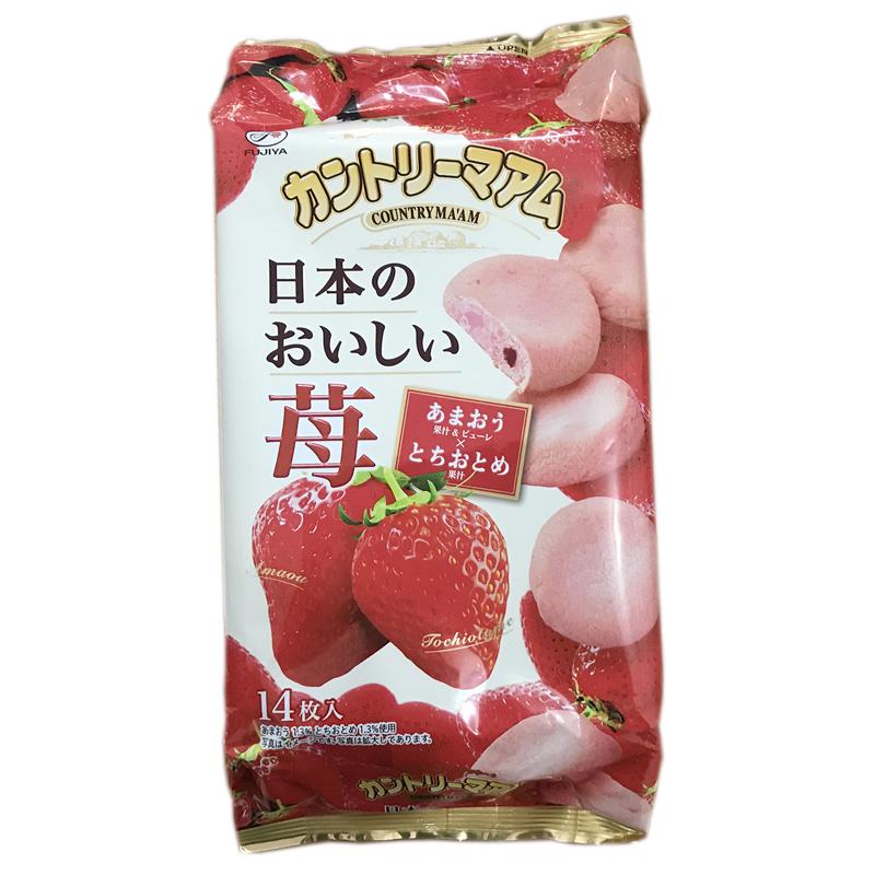 不二家 草莓軟餅 4902555172194