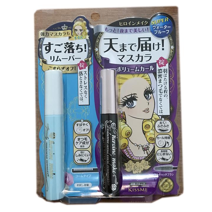 kissme睫毛膏+卸除液套装(浓密) 490143303
