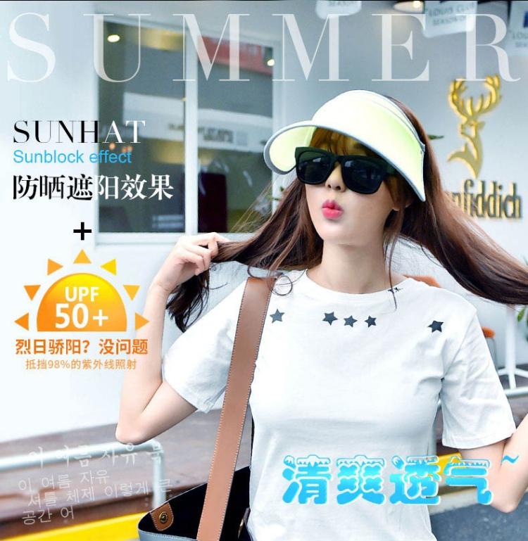 越晒越白,冰冰同款-韩国VVC女神防晒帽
